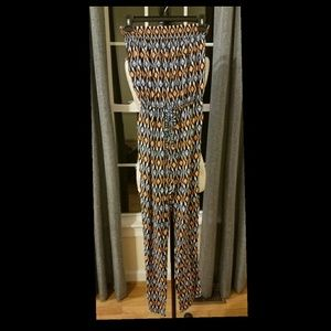 Sexy 1 pc Strapless Pant Jumpsuit Small S